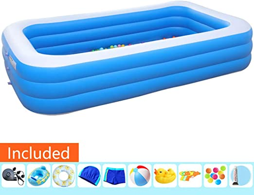 Lili Piscina Hinchable Piscina Desmontable Piscina Fast Set ...