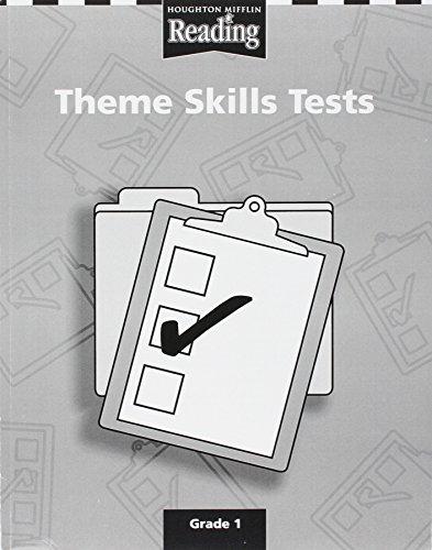 Houghton Mifflin Reading: Theme Skills Tests Level 1 (Level Theme Tests)