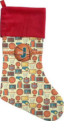 Basketball Christmas Stocking - Single-Sided (Personalized)