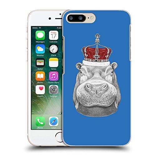 GoGoMobile Coque de Protection TPU Silicone Case pour // Q05260608 hippopotame Azur // Apple iPhone 7 PLUS