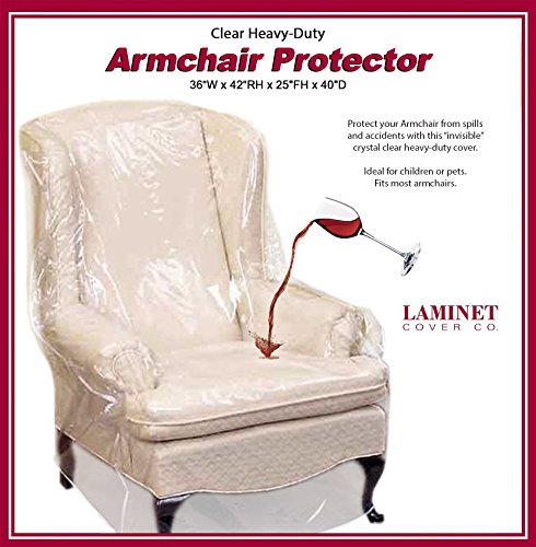 LAMINET Armchair Recliner Cover Clear product image