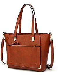 Women Top Handle Handbags Satchel Purse Tote Bag Shoulder Bag