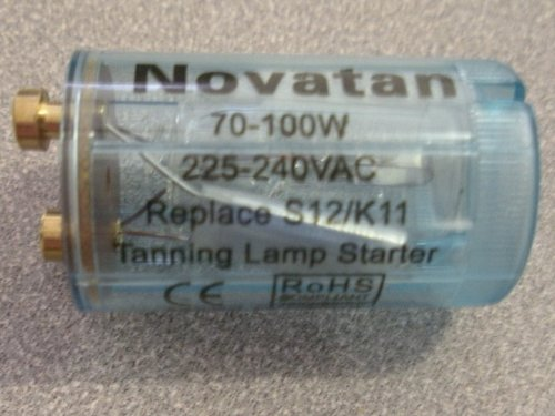 30 Tanning Bed Starter 70-100 watt K11 S12 REPLACES Philips or Cosmedico (Best Tanning Bed Bulbs)