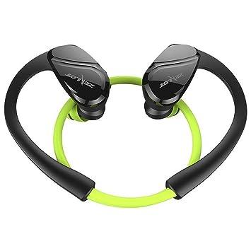 amiubo Auriculares inalámbricos Auriculares Bluetooth Auriculares Deportivos con micrófono en la Oreja (Verde)