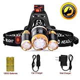 Best Headlamps - LETOUR LED Headlamp Cree T6 Headlamps Zoom 4 Review