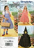 Best  - Simplicity Pattern Childs Wizard Of Oz Costume Pattern Review