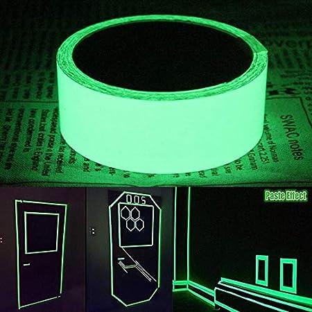 JULXYX Cinta Reflectante 3M Luminoso Cinta Adhesiva ...