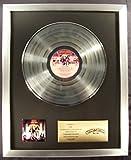 KISS Love Gun LP Platinum Non RIAA Record Award