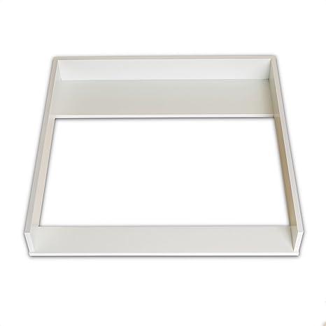 PuckDaddy XS Cambiador superior adecuado para todas las cómodas Brimnes de IKEA
