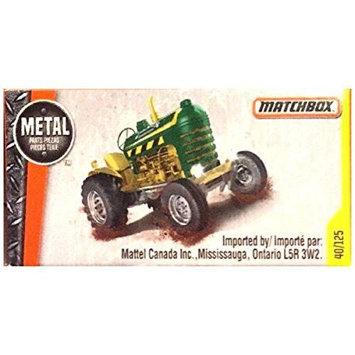 (Matchbox 2016 Crop Master Tractor [Green] (Matchbox Version) 40/125)