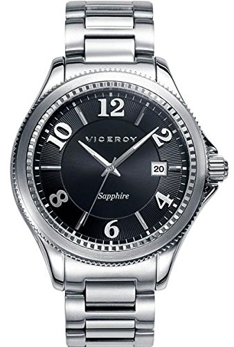Viceroy Reloj Multiesfera para Hombre de Cuarzo con Correa en Acero Inoxidable 47887-55: Amazon.es: Relojes