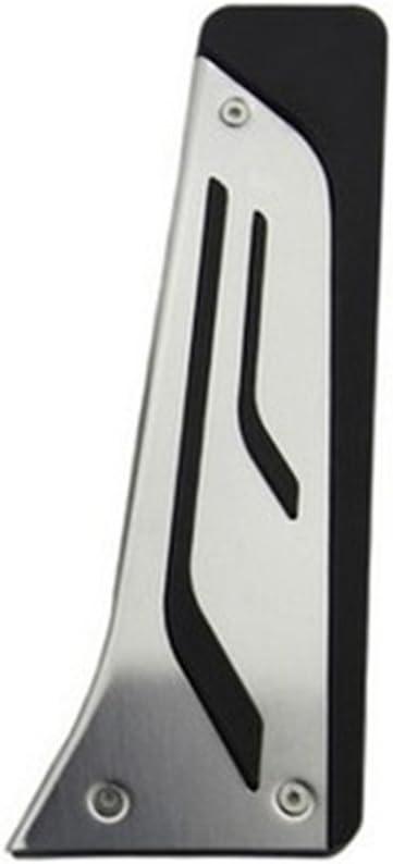 No Drill Gas Brake Pedal Stainless Steel Anti-slip Accelerator Brake Pedal Cover Fits 7 Series X5 X6 E70 E71 E72 F15 LHD MT