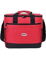 EGOGO 16L Insulated Lunch Box Grande Capacità Borse frigo, Borsa Termica Borsa Pranzo per uomo e donna E524-2 (Blu)