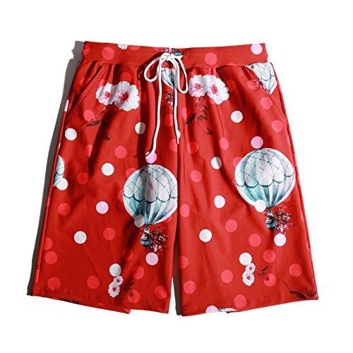 OME&QIUMEI Schwimmen Fast Dry Strand Hosen Lose Seaside Holiday Hot Spring Schwimmen Hosen Shorts Für Männer