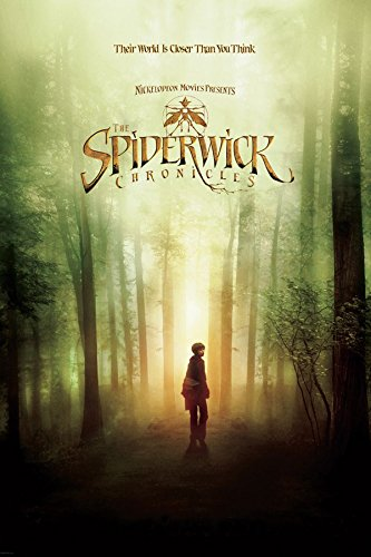 E The Spiderwick Chronicles One Sheet Children's Fantasy Adventure Movie Film Poster Print (24X36 UNFRAMED Poster)