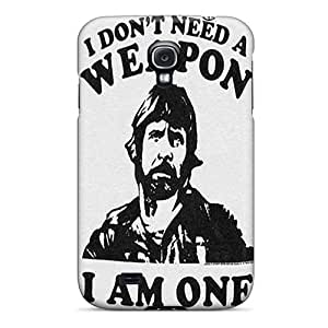 Defender Case For Galaxy S4, Chuck Norris Pattern