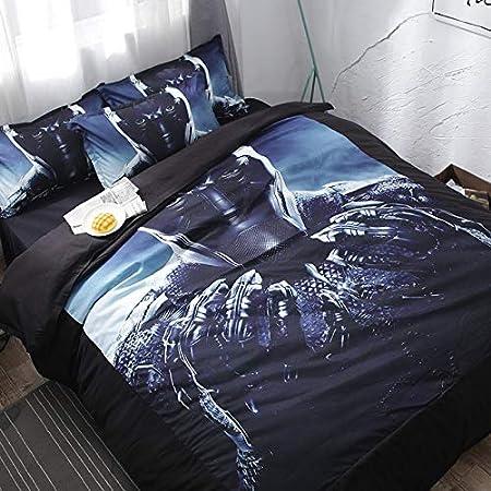 Hllhpc Juego de Cama para el Dormitorio de Cuatro sábanas de ...