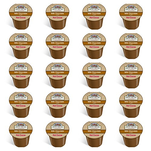 20-count - Grove Square Milk Hot Chocolate Sinlge Cup Pac...