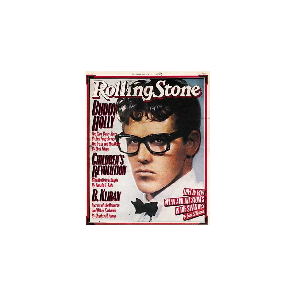 Rolling Stone Magazine # 274 September 21 1978 Gary Busey as Buddy Holly (Single Back Issue)