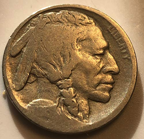1913 D Buffalo Type I First Year Of Buffalo Nickel Very Good
