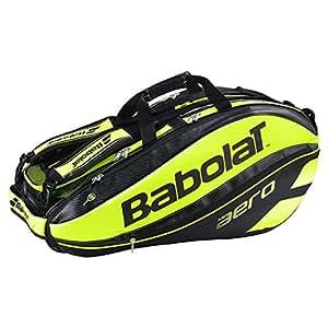 Babolat Pure Aero (9-Pack) Tennis Bag (Black/Yellow)