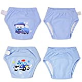 MooMoo Baby Potty Training Pants 4 Packs Toddler Training Underwear For Boy and Girl-18M-S