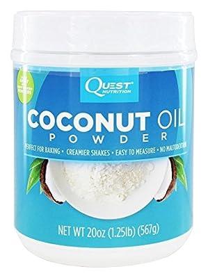 Quest Nutrition Coconut Oil Powder 20 oz (1.25 lbs)