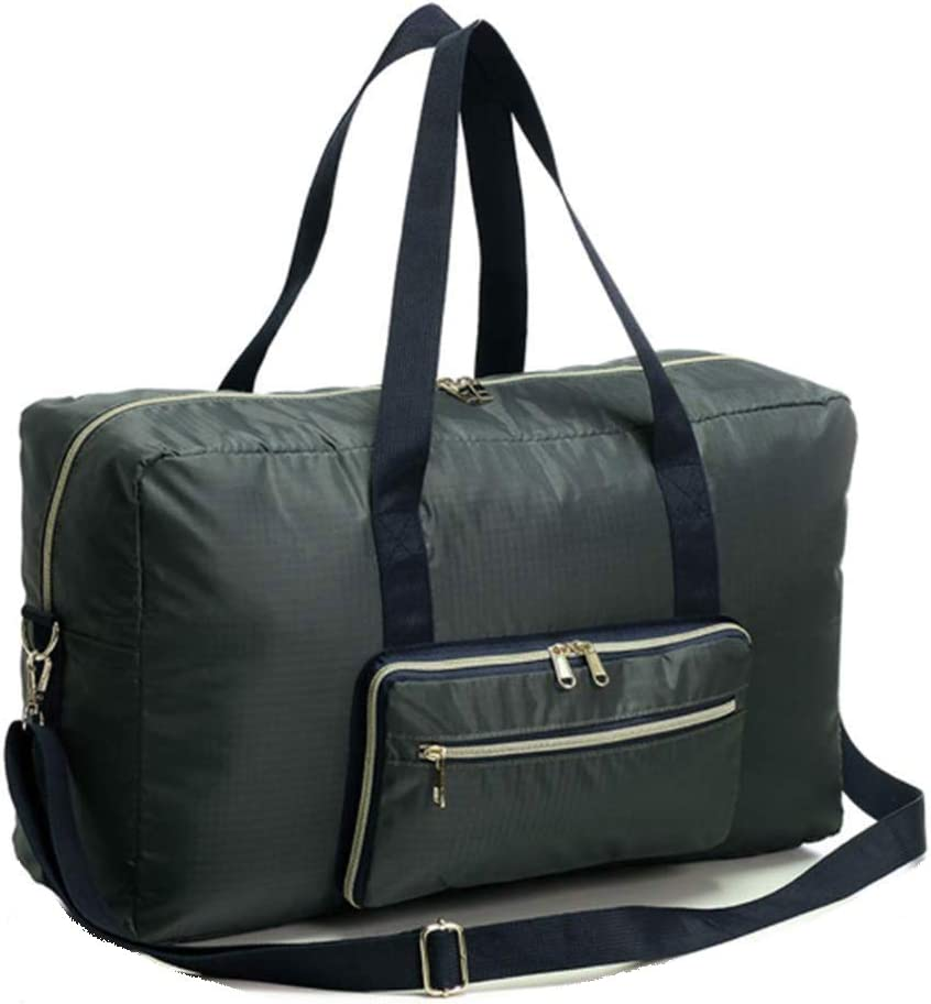 22 Foldable Travel Bag Water Resistant Travel Duffle Bag Carry on Bag with Lining and Shoulder Strap