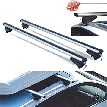 Menabo - Dozer Xxl Dozer Xxl 150Cm X 5Cm Roof Bars For Vehicles With Open Intergrated Roof Rails And T-Track Capability Max 90Kgs Load