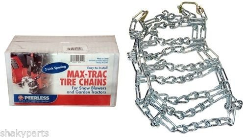 5569 Rotary Set Of 2 15X600X6 Tire Chains 2 Link Spacing __#G451YH4 51IO3478081