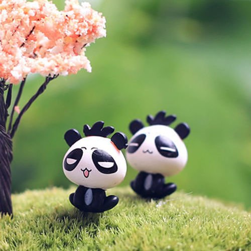 no08-2pcs-cute-panda-lots-garden-craft-plant-pots-fairy-ornament-miniature-figurine-dollhouse-decor-