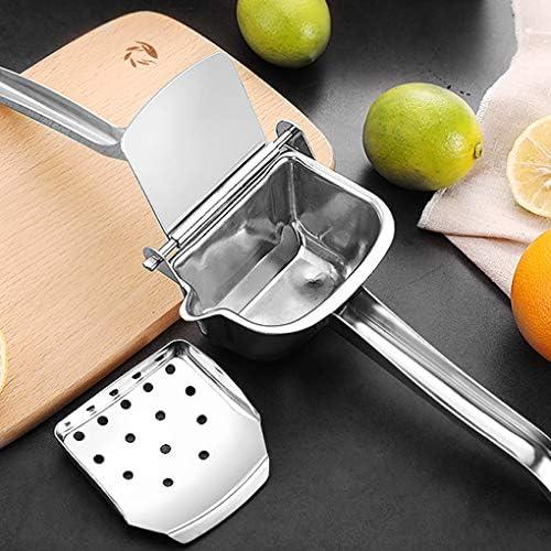 rongweiwang Manual de la Fruta de la Fruta Juicer de la Prensa casera de la Cocina de Acero Inoxidable de limón exprimidor de Naranja Mano Exprimidor Extractor