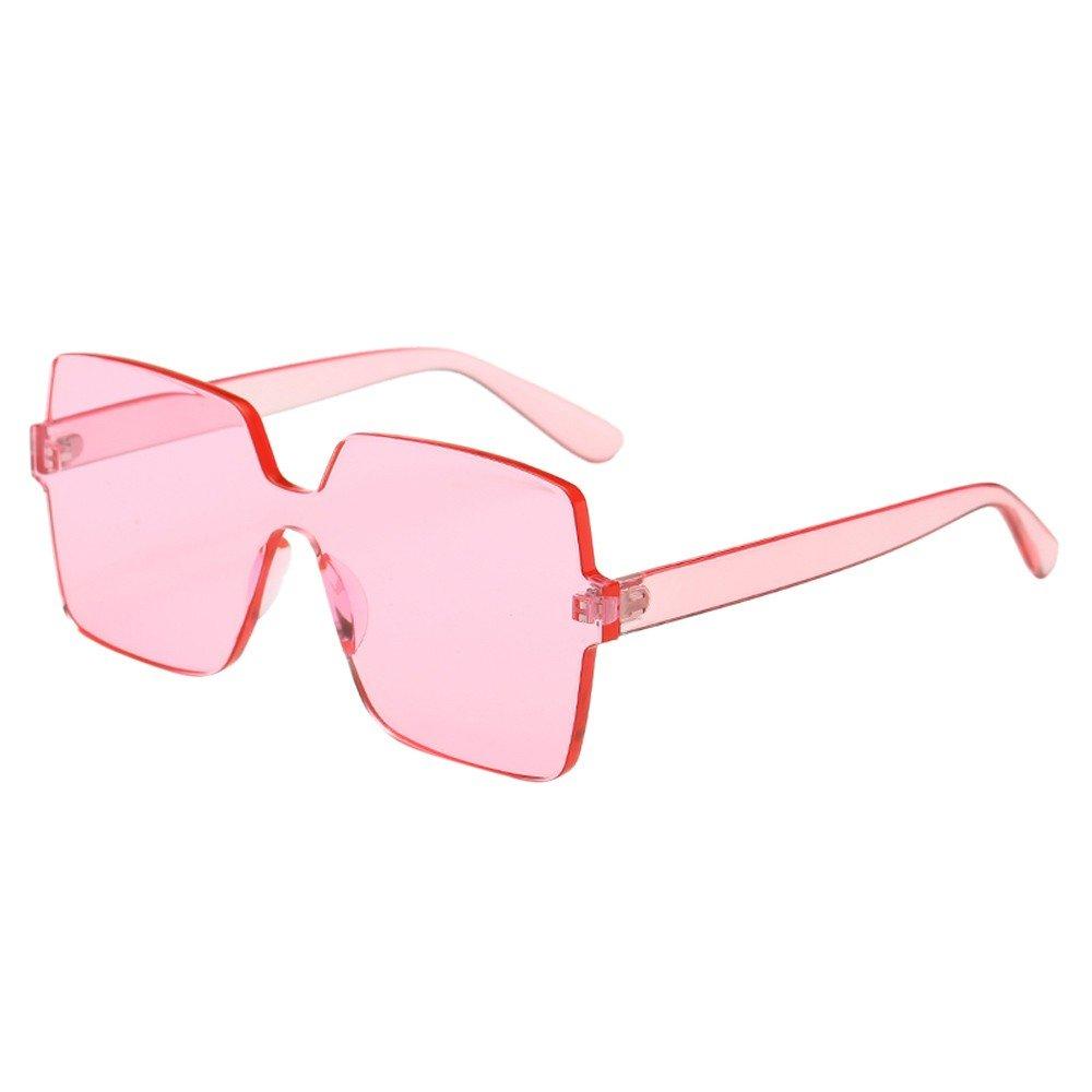 Holata Women Man Fashion Vintage Big Frame Sunglasses Eyewear Retro Unisex