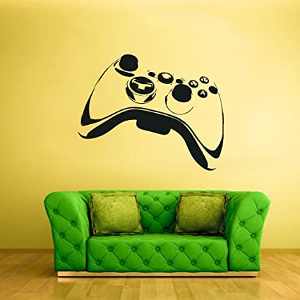 ThinkingPower Boys Room Cover/Decals/Stickers Damaged Aged Ball Game Decal Sticker W8XL11 INCH