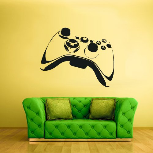 Wall Decal Vinyl Sticker Decals Gaming Time 360 Ps3 Game Ps2 Controller (Z1623) (Best Motorcycle Games Xbox 360)