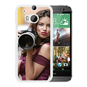 New Custom Designed Cover Case For HTC ONE M8 With Adriana Lima Girl Mobile Wallpaper(69).jpg