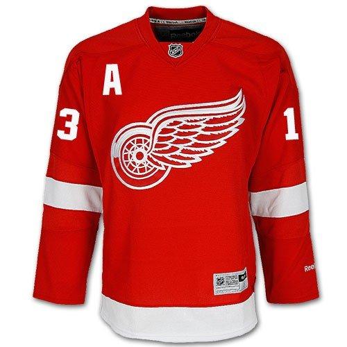 Pavel Datsyuk Detroit Red Wings NHL MENS Red Home Premier Game Jersey Medium