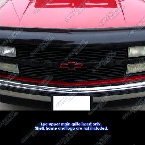 APS 1988-1993 Chevy C/K Pickup/Suburban/Blazer Black Billet Grille Grill Insert #S18-H10058C