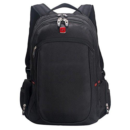 Winkee-SA007-Mochila-de-transporte-para-ordenador-porttil-156-Negro