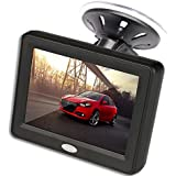 3.5 Inch TFT LCD Car Color Rear View Monitor Screen for Parking Rear View Backup Camera With 2 Optional Bracket