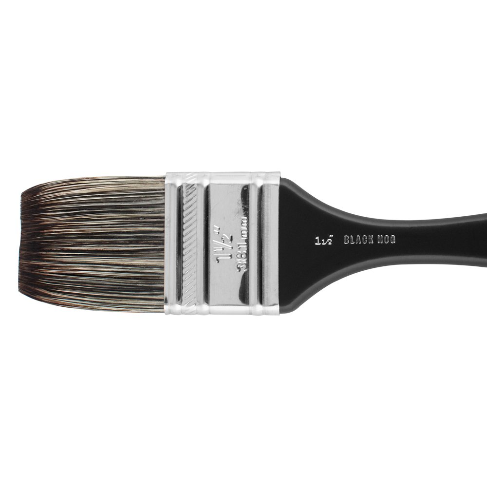 Jackson's : Black Hog Bristle Brush : Mottler : 1.5in