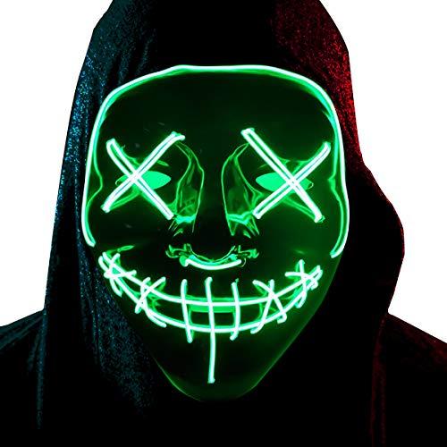Festival Costumes For Kids - LED Mask Light up Masks Rave