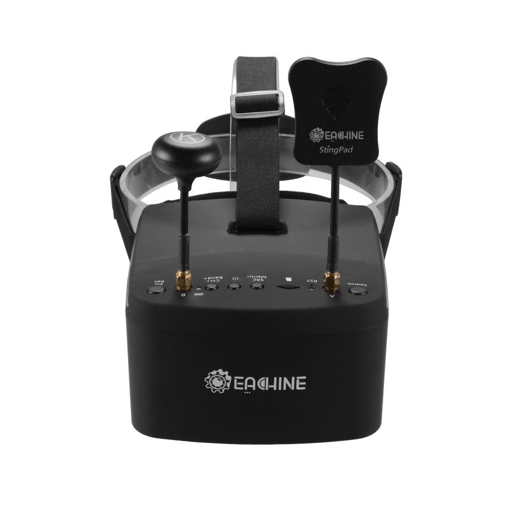 XCSOURCE Eachine EV800D Goggles 5.8G 40CH Diversity Goggles DVR Video Headset w/ 3.7V 2000mAh Battery for FPV Racing Drone AH339