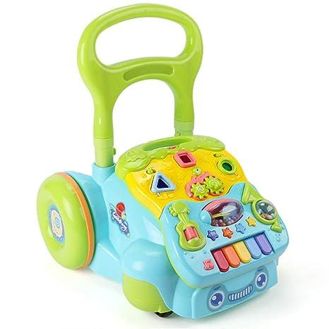 Cochecito de bebé andador de música multifunción andador ...