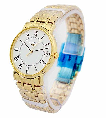 Longines Presence Gold Toned SS Unisex Watch L47202118 / L48192118