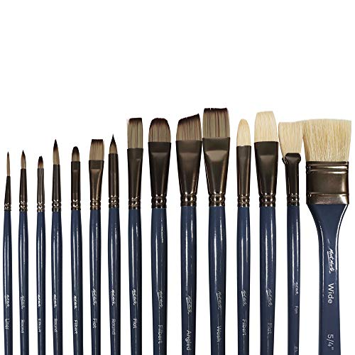 Top oil painting brushes and knives