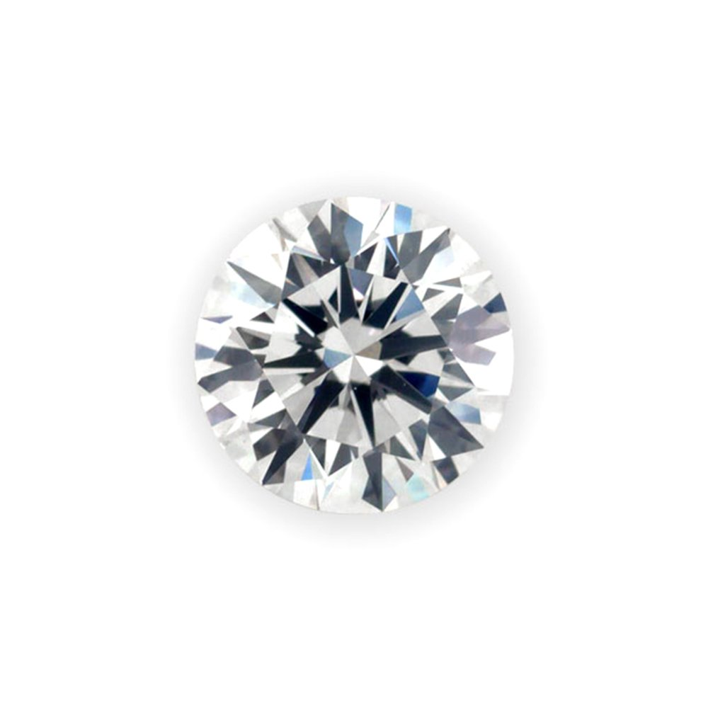 0.06 ct Round Brilliant Cut 2.50 mm G VS2 Loose Diamond Natural Earth-mined