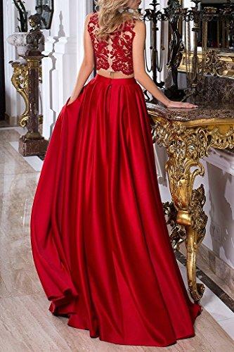 Spitze Abendkleider Damen Kleider Party BrautjungfernKleider Red Bainjinbai Lange Kleider Cocktail Formal dwUEqnHxt