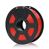 ANYCUBIC 1.75mm PLA 3D Printer Filament - 1kg Spool (2.2 lbs) - Dimensional Accuracy +/- 0.02mm, Red