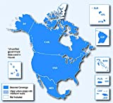North America, USA, Canada, Mexico GPS map 2017.1 for Garmin Devices